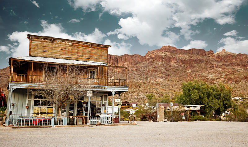 Old west general store royalty free stock photography