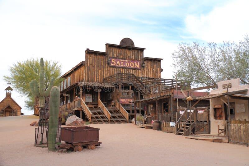 USA, Arizona: Old West - Saloon stock photography