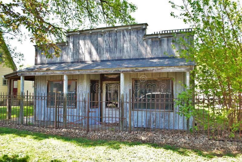 Old west style facade. An old west style facade royalty free stock photography