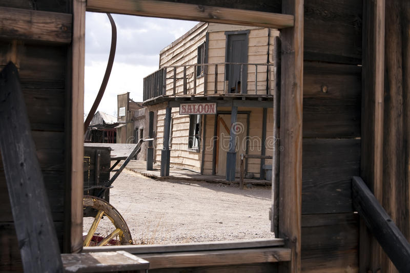 Download Old West Town Hotel Room With A View Stock Photo - Image: 11232848