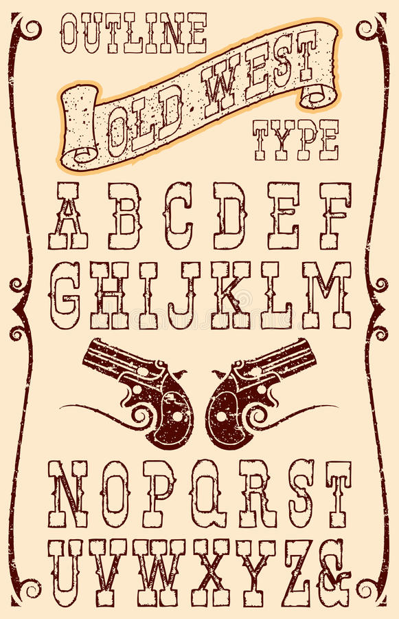 old west type royalty free stock photography