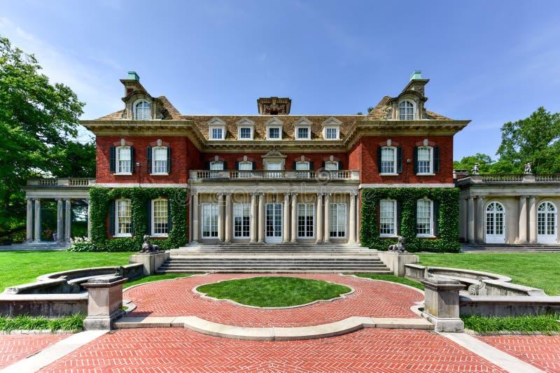Old Westbury Gardens Mansion - Long Island. Long Island Gold Coast Mansion at Old Westbury Gardens royalty free stock images