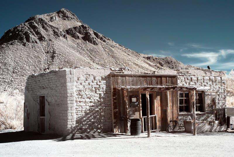 Old Western adobe Building