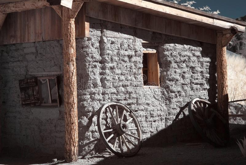 Download Old Western Adobe Building stock photo. Image of house - 10967500