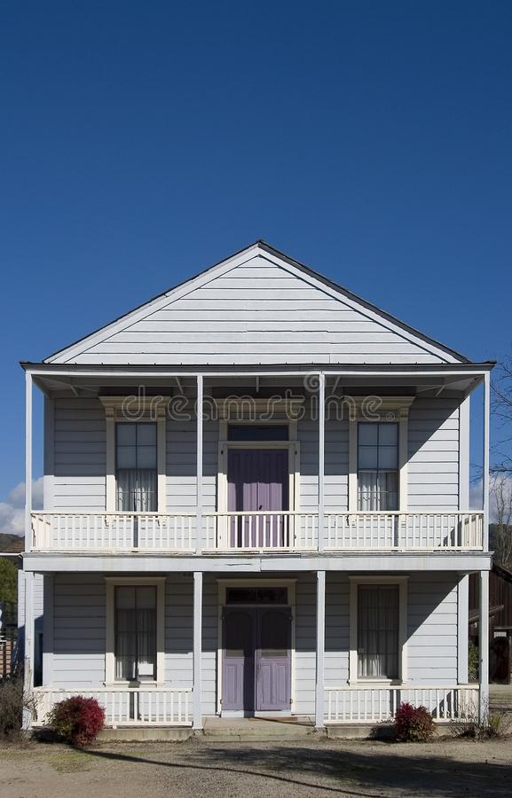 Old Western House royalty free stock image