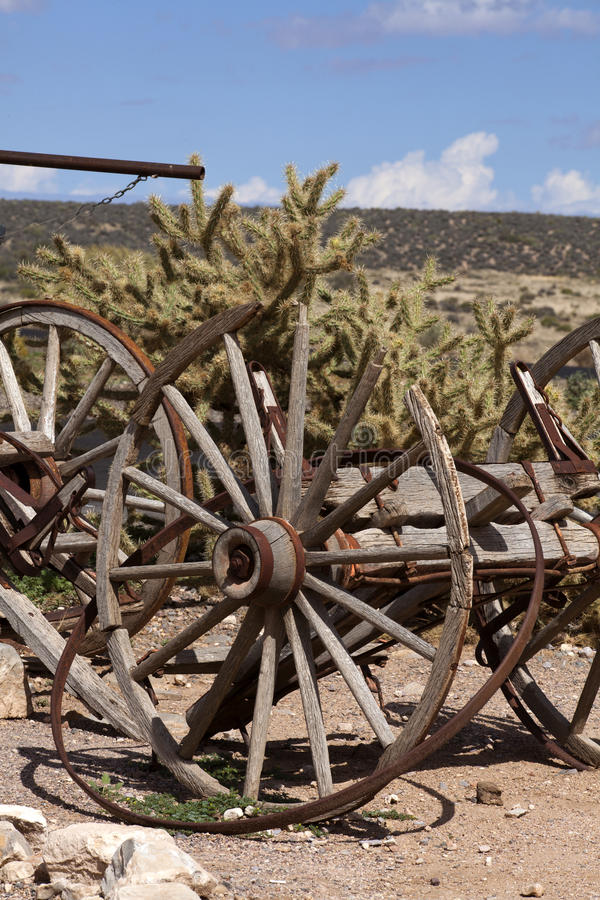 Old western theme scene royalty free stock photography