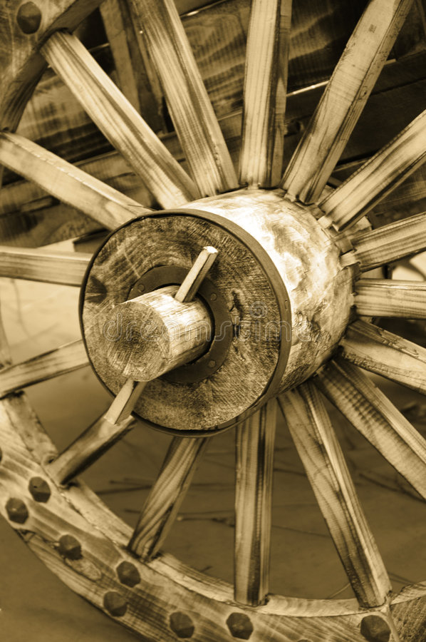 Old Wheel Royalty Free Stock Photography