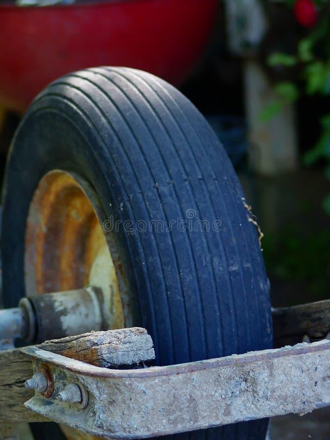 Old Wheel Barrel Free Stock Image