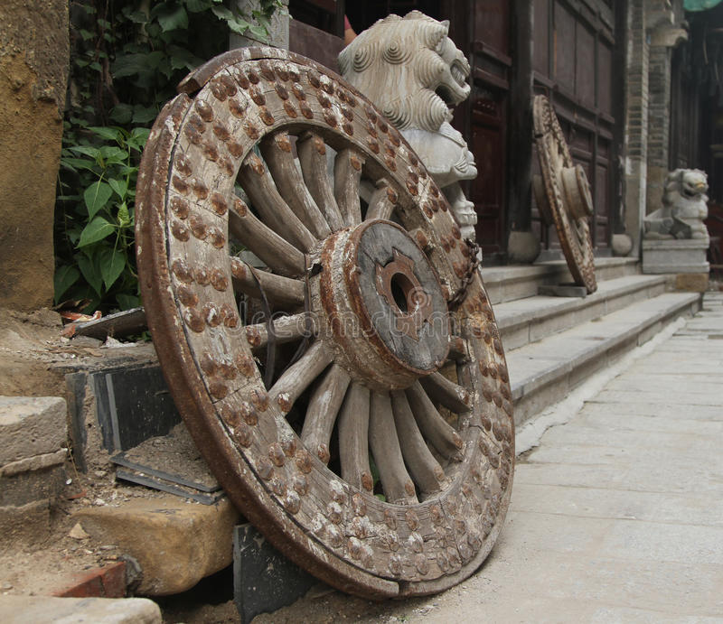 Download Old wheels stock photo. Image of historic, background - 36041318