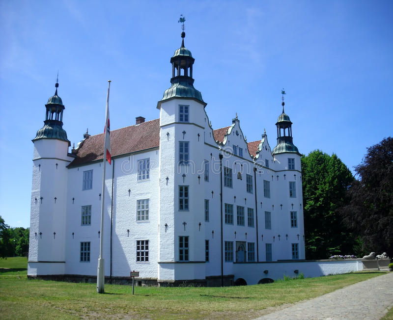 Download Old white ancient castle stock photo. Image of castle - 20991752
