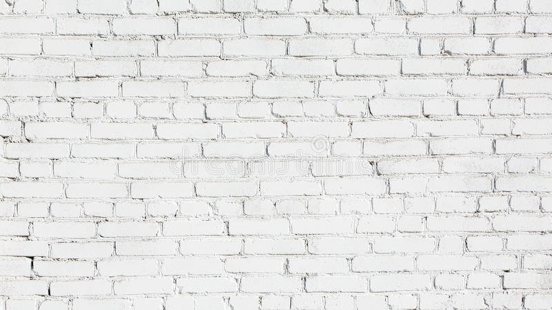 Old White brick wall Background royalty free stock photo