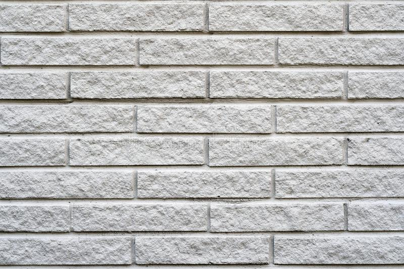 Old white brick wall texture background royalty free stock photos