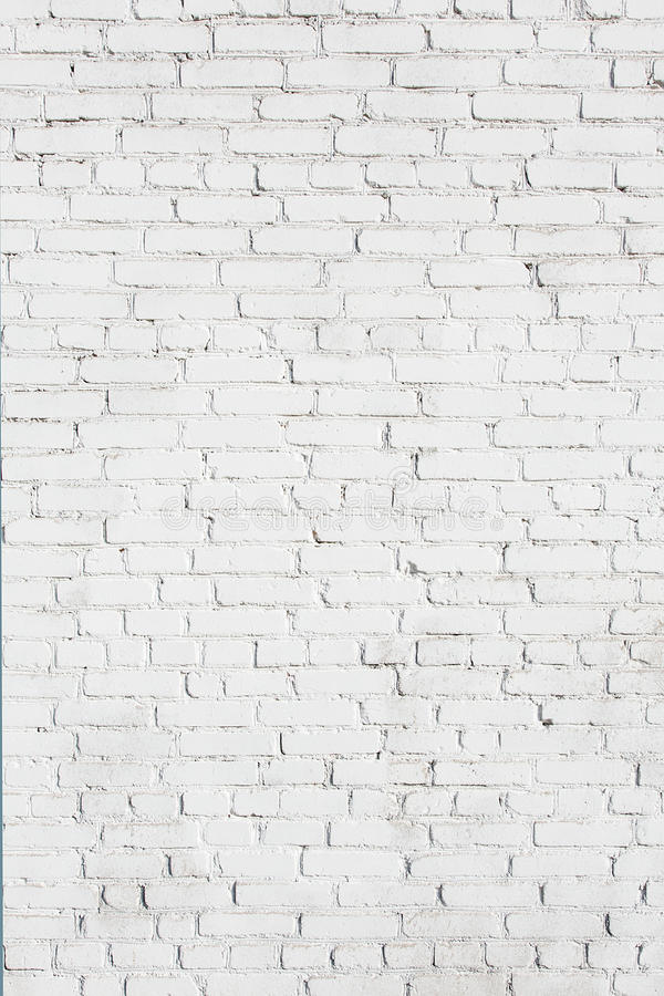 Download Old White Brick Wall Texture Stock Photo