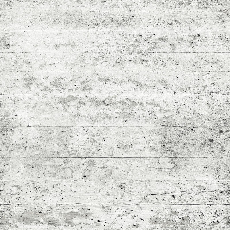 Old white concrete wall, seamless background texture. Old white grungy concrete wall, seamless square background texture royalty free stock photo
