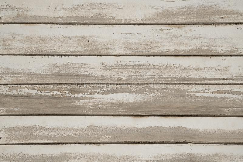 Old White Painted Wood Wall royalty free stock photos