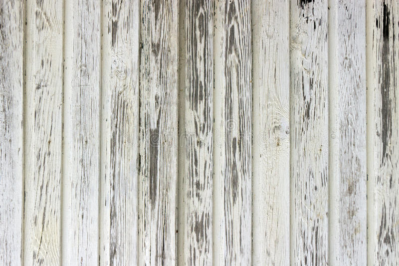 Old white painted wood wall royalty free stock photo