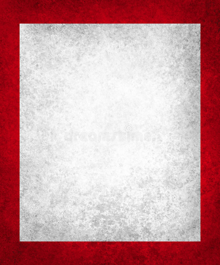 Old white paper on rich red background with vintage texture vector illustration