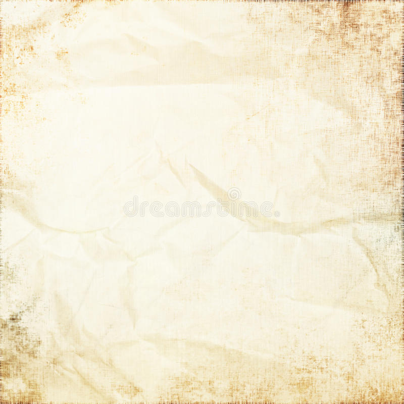 Old white parchment as grunge background royalty free stock photo