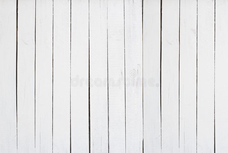 Old white wood texture wall background in vintage with copy space, top view of floor- can used to show produce royalty free stock photos