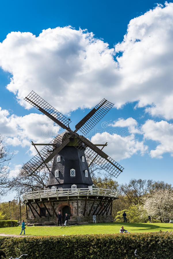 Free Old Windmil In Malmo Royalty Free Stock Photos - 61221638