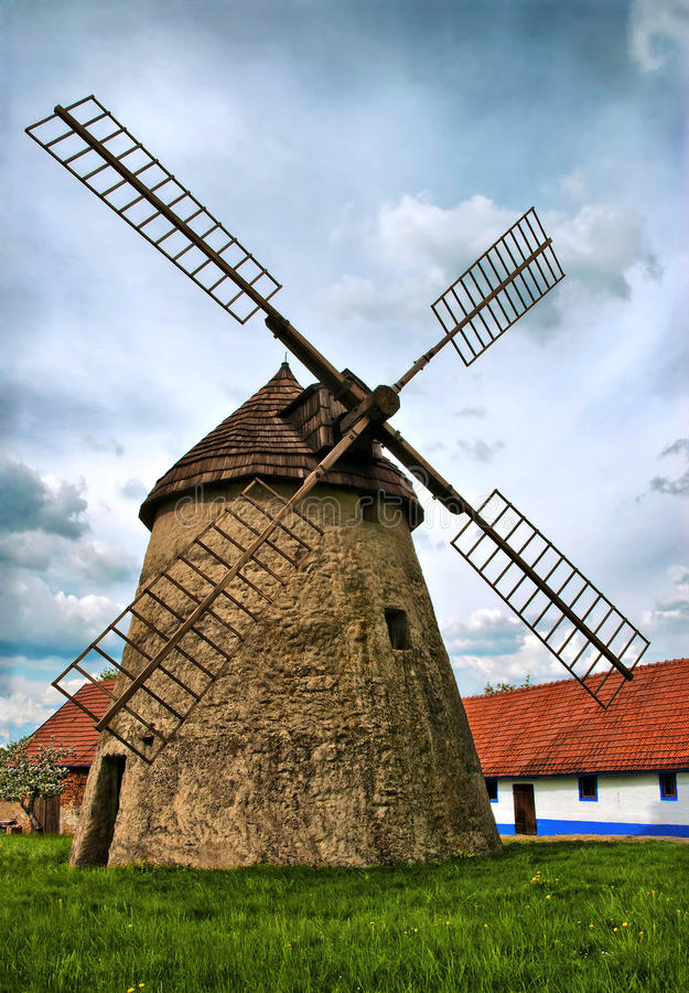 Free Old Windmill Royalty Free Stock Photo - 14871825