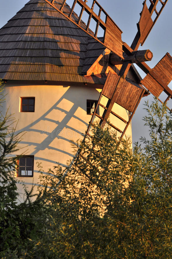 Download Old windmill stock image. Image of rural, generator, scene - 26108077