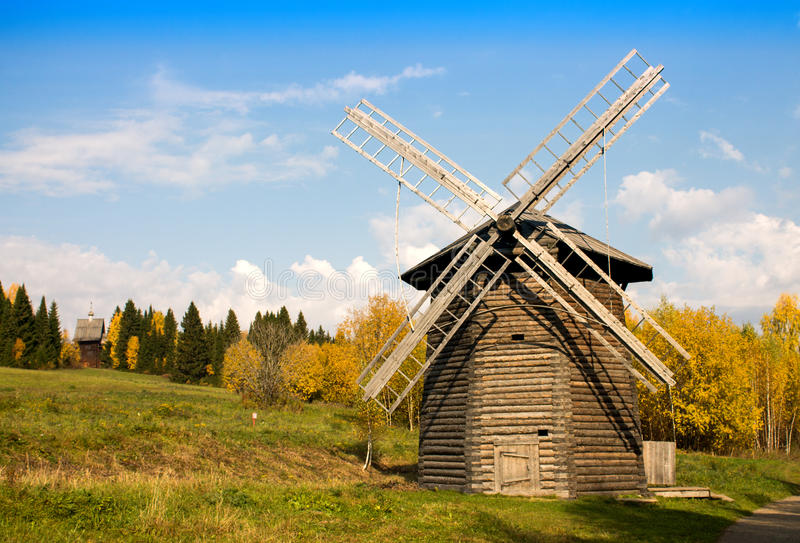 Download Old Windmill Royalty Free Stock Images - Image: 33336779