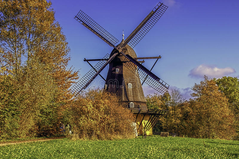 Old Windmill royalty free stock image
