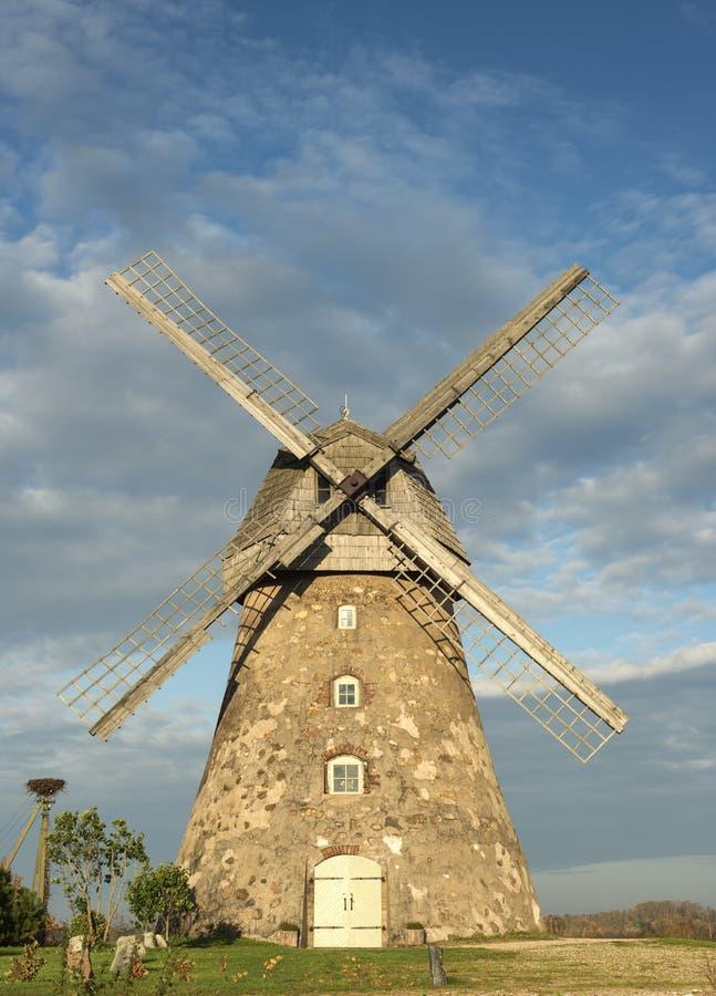 Old windmill near Cesis, Latvia, Europe royalty free stock photos