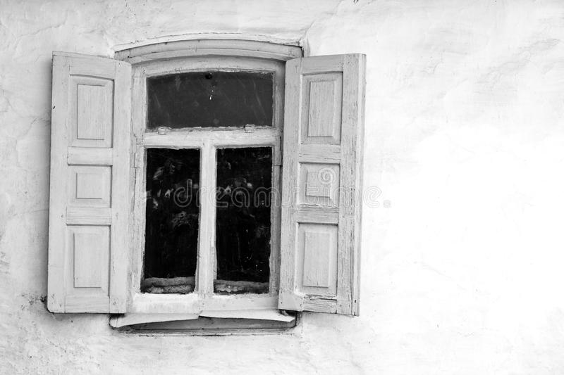 Old Window Stock Photography