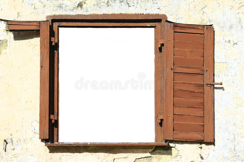 Download Old Window stock image. Image of demolition, open, decay - 29092399