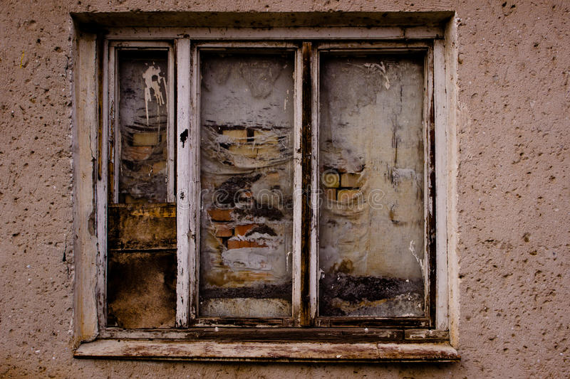 Old window. royalty free stock photography