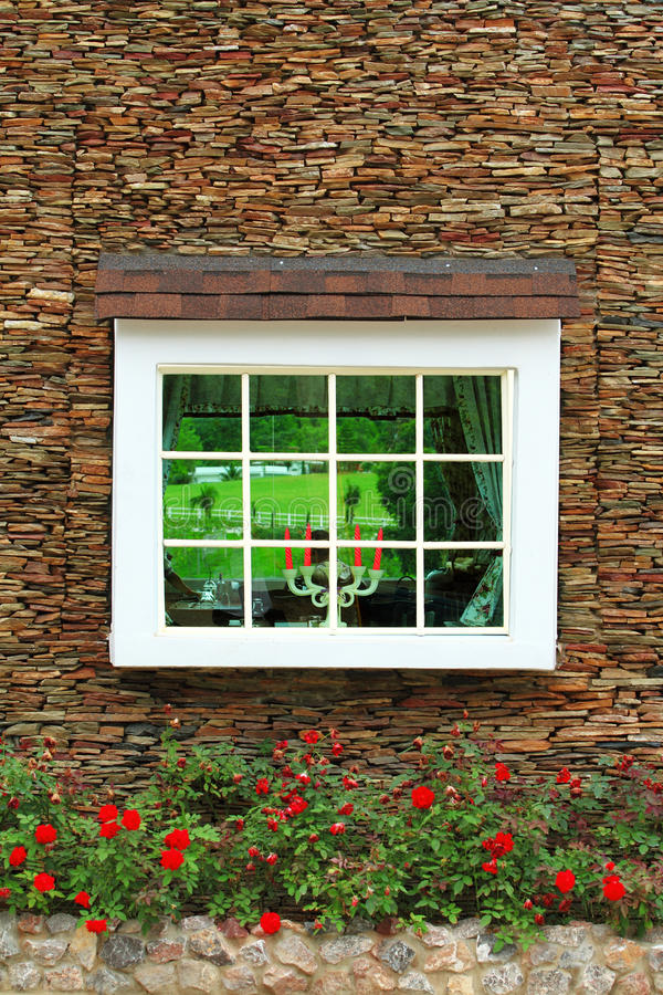 Free Old Window And Brick Wall Royalty Free Stock Image - 15791986