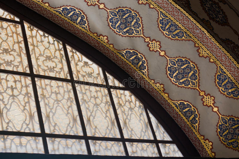 Old window Architecture from the Ottoman times. In Istanbul royalty free stock images