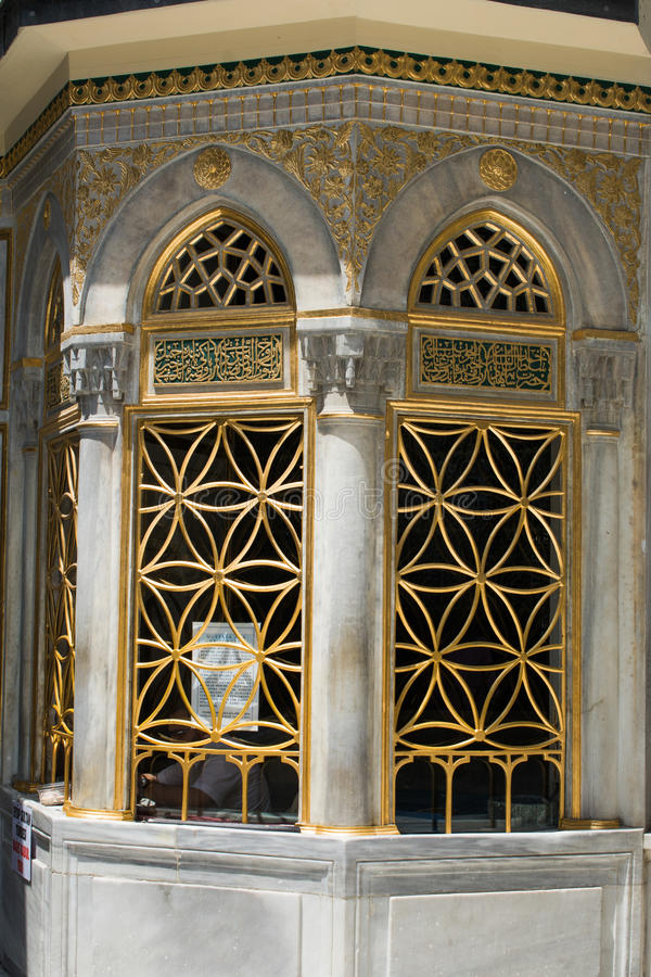 Old window Architecture from the Ottoman times. In Istanbul royalty free stock photography