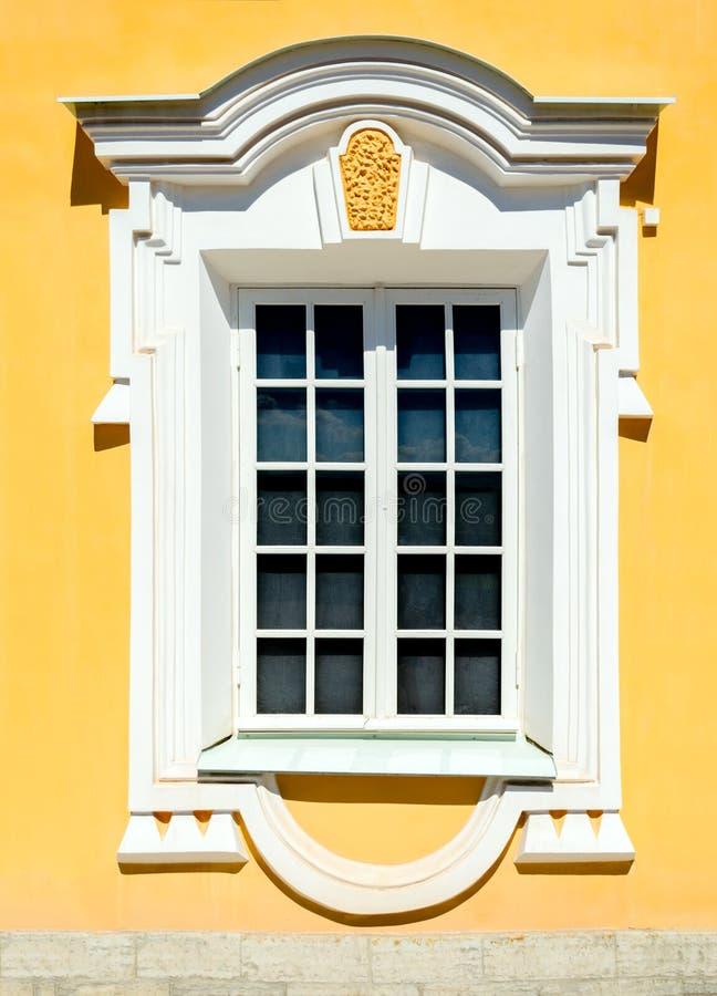 Old window decoration stock photos