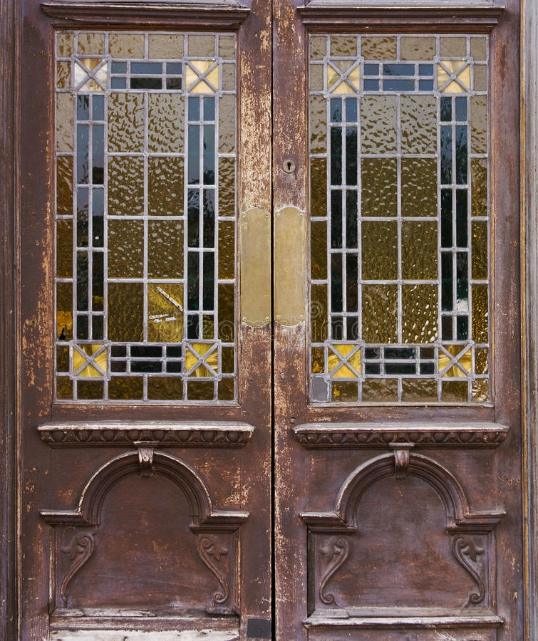 Download Old window door stock image. Image of down, boarded, ruined - 11043327