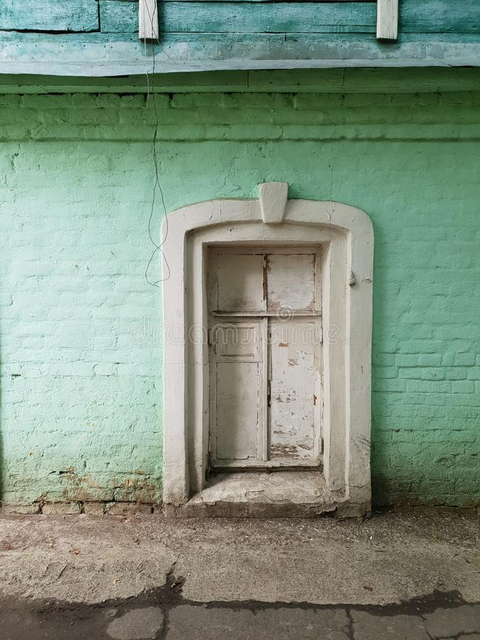 Old window in mansion royalty free stock images