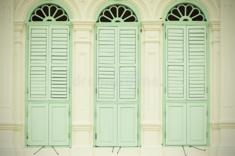 Old window retro pastel tone classic color background. Old window retro pastel tone classic color background stock images