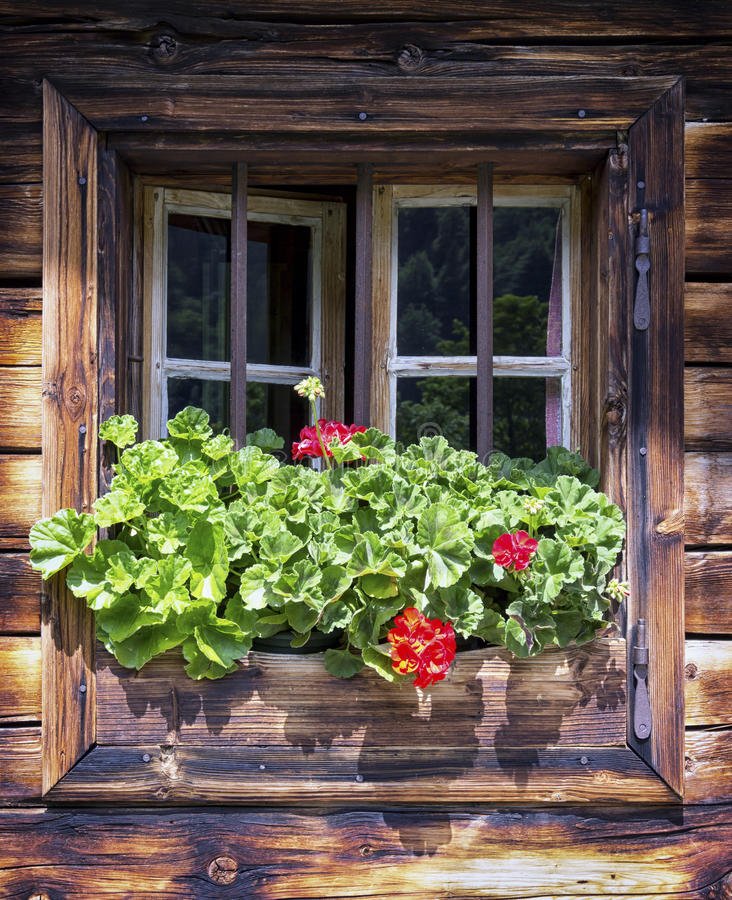 Download Old window stock image. Image of object, austria, idyllic - 35290265