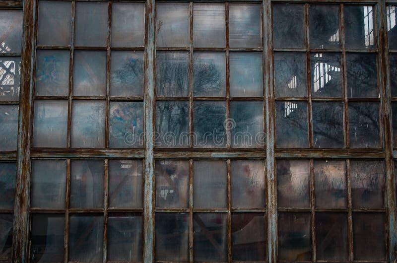 Old Windows. Structure presentation gotic stock photo