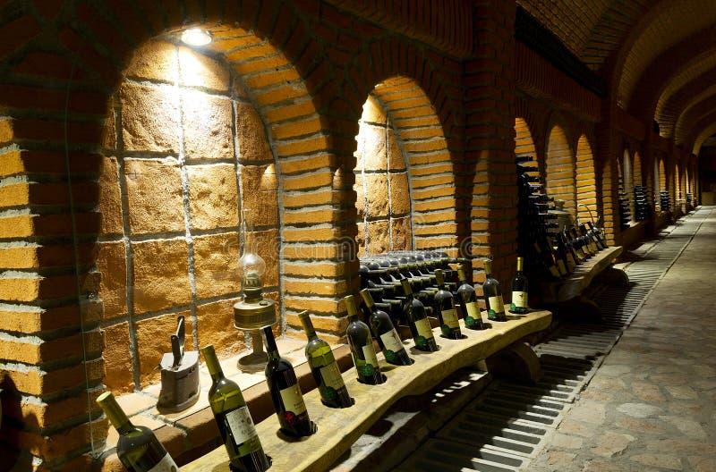 Old wine cellar royalty free stock photo