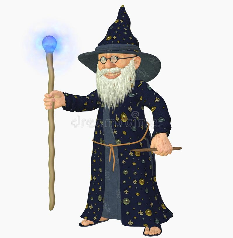 Old Wizard Stock Images