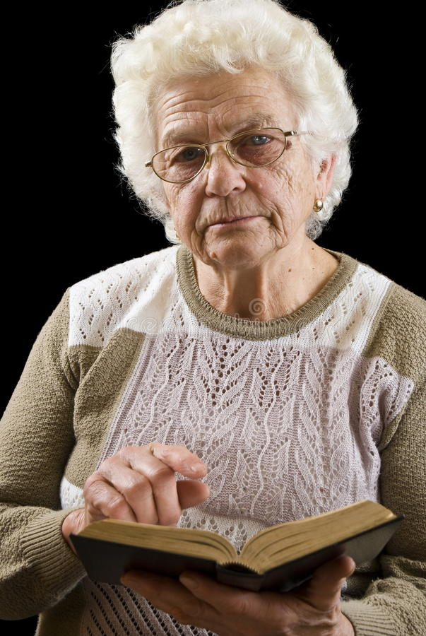 Angry Old Woman Stock Photos, Pictures & Royalty-Free