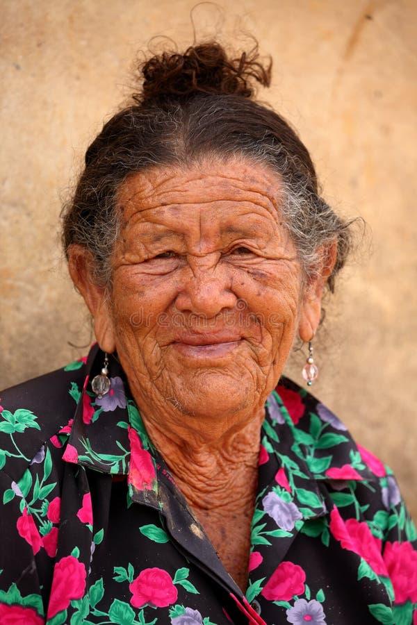Old woman from Brazil. An Old woman from Brazil royalty free stock photo