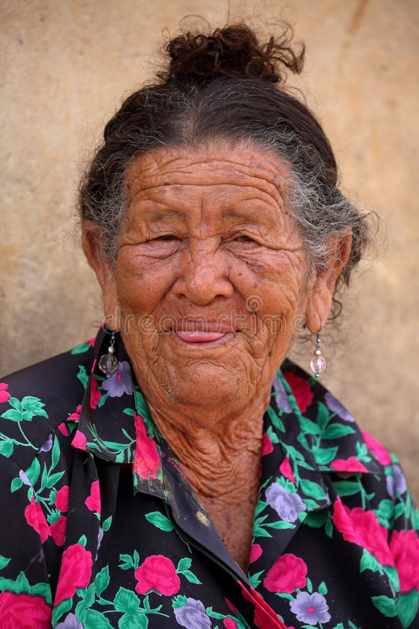 Old woman from Brazil. An Old woman from Brazil stock image