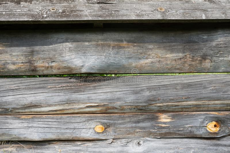 Old wood background. Close-up fence. The texture of the wooden fence royalty free stock photography