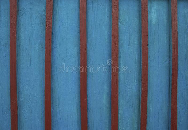 Old wood. Background of old board and cracked paint royalty free stock image
