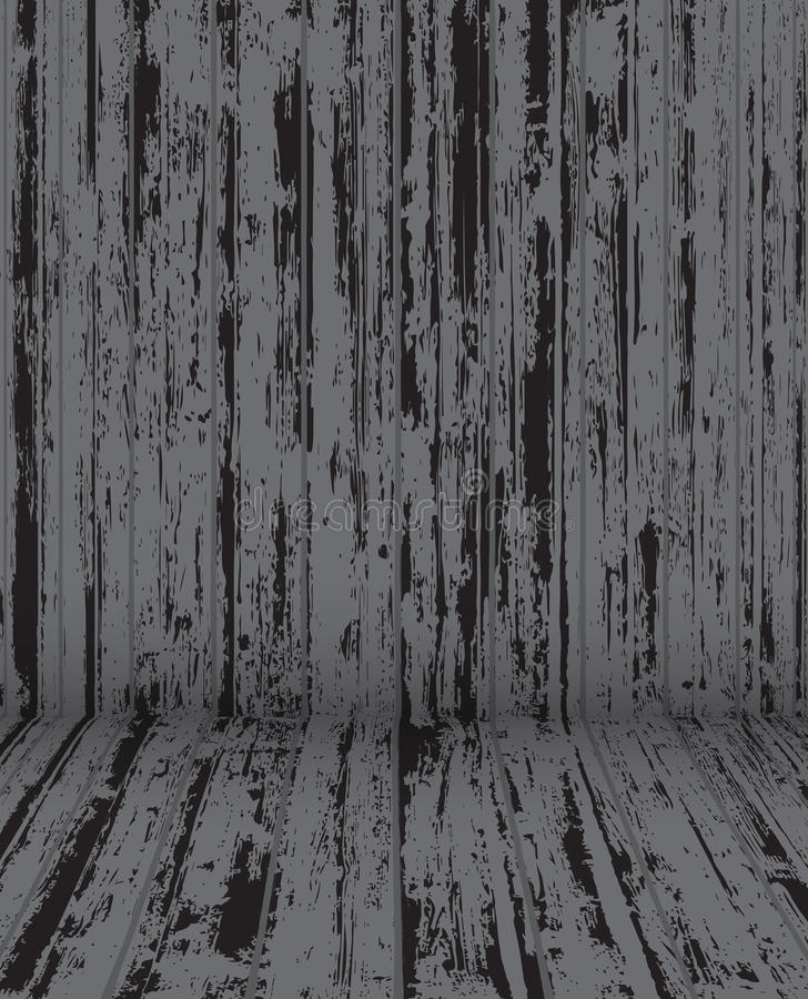 Old Wood Background Texture vector illustration