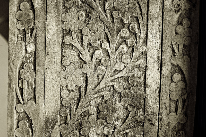 Download Old wood carving details stock image. Image of craft, mold - 4864417